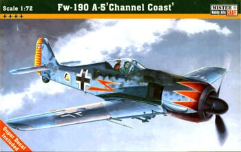 "C-02 Самолет Fw-190A-5 ""Channel Coast"" (MISTERCRAFT)  1/72"