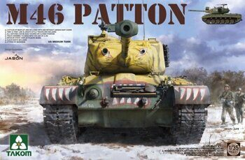 2117 1/35 US MEDIUM TANK M-46 PATTON