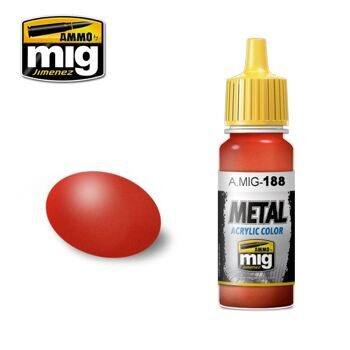 AMIG0188 METALLIC RED
