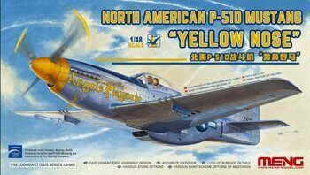 LS-009 North American P-51D Mustang `Yellow Nose`