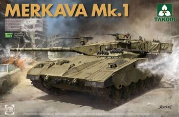2078 1/35 Israeli Main Battle Tank Merkava 1