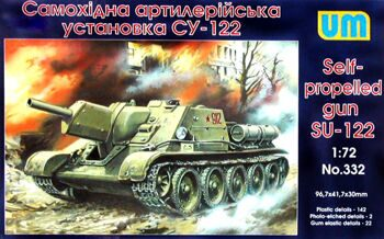 332  SU-122 WW2 Soviet self-propelled gun