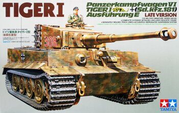 35146 1/35 Танк TIGER I Late Version