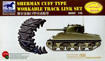 AB3547 Sherman Cuff Type  Workable Track Link Set