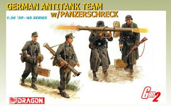 6374 1/35 German Antitank Team w/Panzerschreck