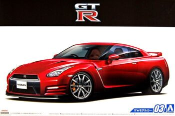 051542 1/24 NISSAN R35 GT-R PURE EDITION '14