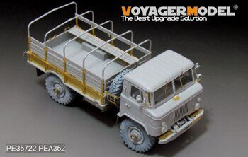PE35722 Modern Russian GAZ-66 Cargo Track Basic (For TRUMPETER 01016)