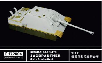 FH72004 German Sd.kfz.173 Jagdtiger (Late Production )(For Trumpeter07272)
