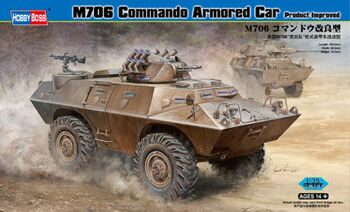 82419 БТР M706 Commando Armored Car (Hobby Boss) 1/35