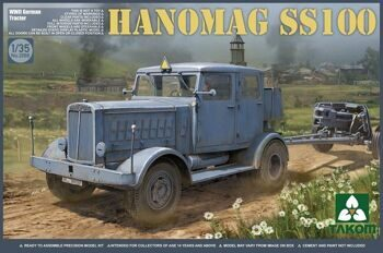 2068 1/35 WWII German Tractor Hanomag SS100