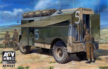 "AF35227 1/35 AEC 4x4 Armoured Command Vehicle ""Dorchester"""
