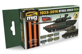 AMIG7160 MYTHICAL RUSSIAN GREEN COLORS 1935-2016
