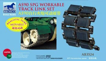 AB3524 AS 90spg workable track link set