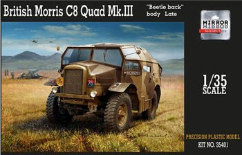 "35401 1/35 British Morris C8 Quad Mk.III ""Beatle back"" body Late"