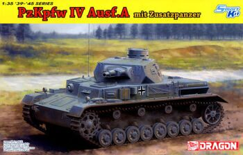 6816 1/35 Pz.Kpfw.IV Ausf.A Up-Armored Version