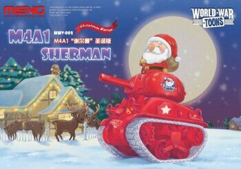 WWV-002 US Medium Tank M4A1 Sherman Christmas Edition