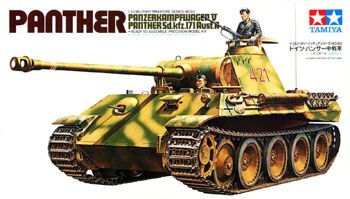 35065 1/35 PANTHER (Sd.kfz171) Ausf.A с 2 фиг.