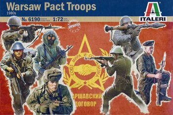 6190  Warsaw Pact Troops (1980's)