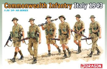 6380 1/35 Commonwealth Infantry (Italy 1943-44)