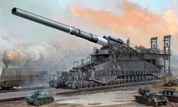 "82911 German 80cm K(E) Railway Gun ""Dora"""
