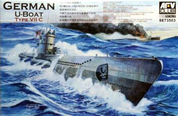 SE73503 1/350 German U-Boat Type VII/C