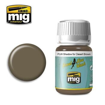 AMIG1621 PLW SHADOW FOR DESERT BROWN