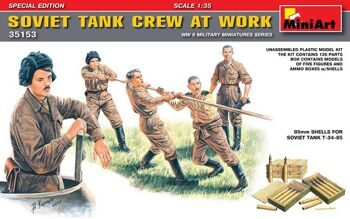 35153  Soviet Tank Crew at Work. Special Edition