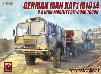 UA72132 German MAN KAT1M1014 8*8 HIGH-Mobility off-road truck