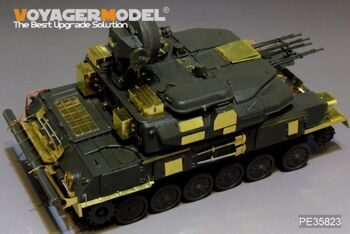 PE35823 Modern Russian ZSU-23-4M SHILKA Basic (For HONG H-5001)