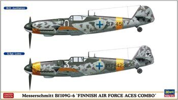 02259 Messerschmitt Bf109G-6 Finnish