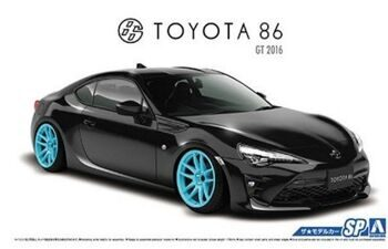 05179 1/24 1/24 TOYOTA ZN6  TOYOTA86 '16 with CUSTOM WHEELS
