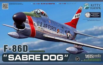 KH 32007 1/32 North American F-86D Sabre Dog