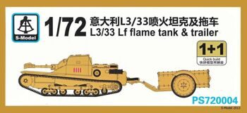 PS720004 L3/33 Lf flame tank & trailer