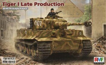 RM-5015 1/35 Tiger I Late Production