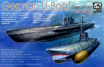 SE73504 1/351 German U-Boat Type 7/C41