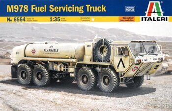 "6554  M978 HEMTT ""Fuel Servicing Truck"""