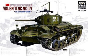 AF35199 British Infantry Tank Mk.III Valentine Mk.IV Soviet Red Arry Version
