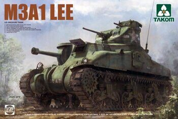 2114 1/35 US MEDIUM TANK M3A1 LEE