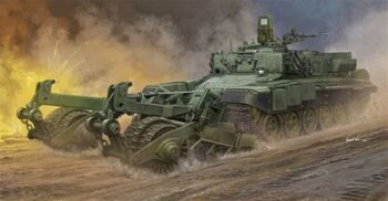 09552 Russian Armored Mine-Clearing Vehicle BMR-3