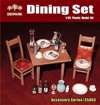 DP35003 1/35 Dining Set