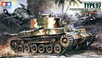 35137 Tamiya 1/35 Type 97 Japanese Medium Tank(late version)