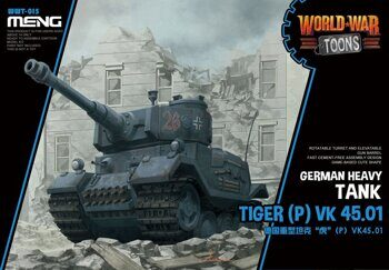 WWT-015 GERMAN HEAVY TANK TIGER(P) VK45.01