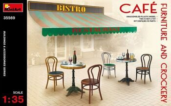 35569  Cafe Furniture & Crockery