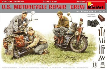 MA35284 U.S. Motorcycle Repair  Crew. Special Edition