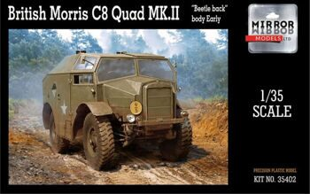 "35402 ""British Morris C8 Quad Mk.II 1/35 """"Beatle back"""" body Early"""