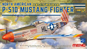 LS-006 1/48  NORTH AMERICAN P-51D MUSTANG FIGHTER