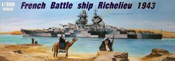 05311 French battleship Richelieu