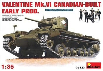35123  Valentine Mk 6. Canadian - built Early Prod.