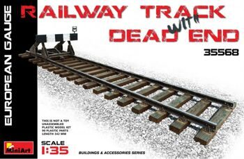 35568  Railway track & Dead end (European Gauge)