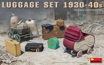 MA35582  Luggage Set 1930-40s